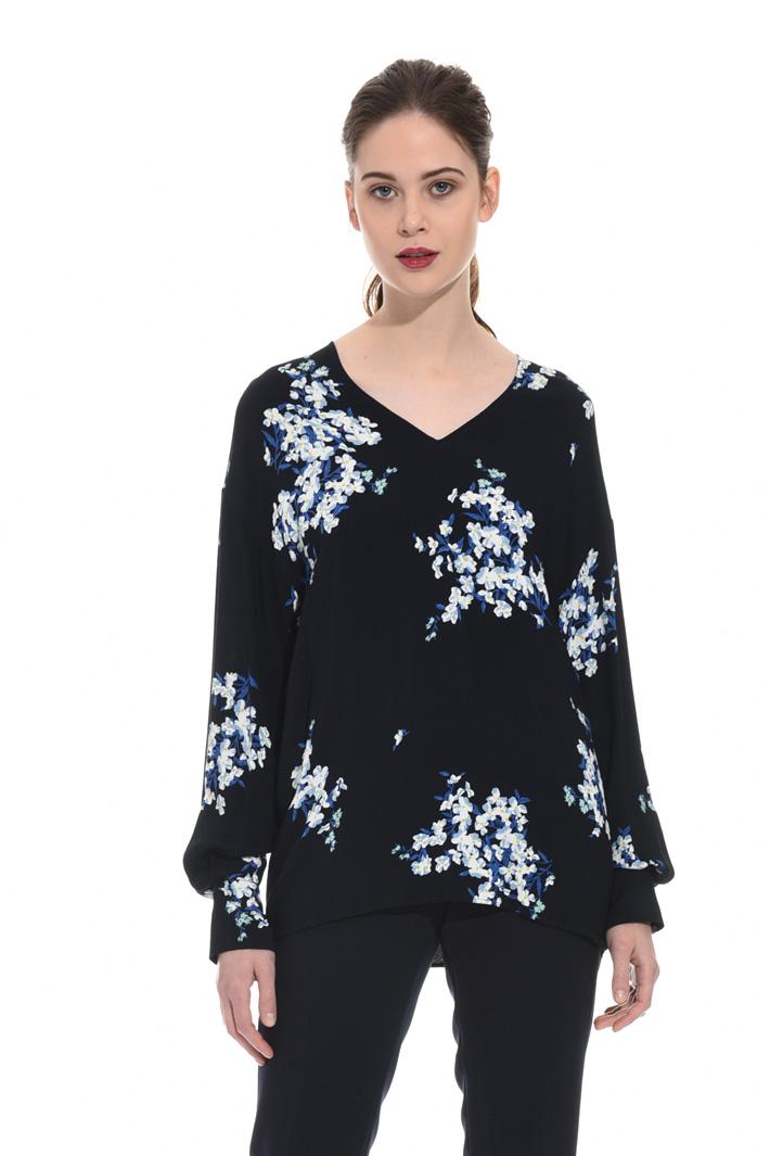 Blusa in marocaine stampata Fashion Market