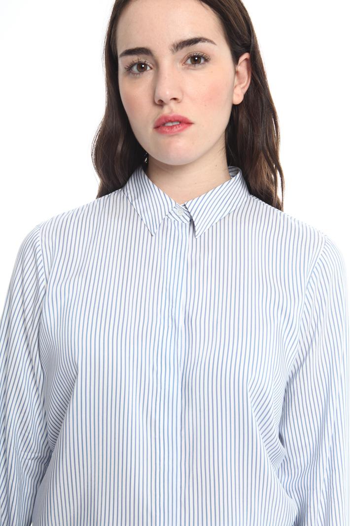 Camicia in viscosa tinto filo Fashion Market