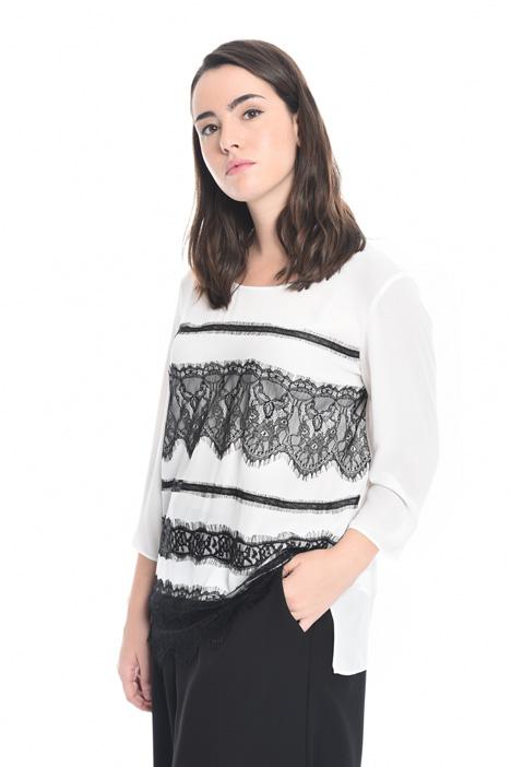 Blusa in tessuto fluido Fashion Market