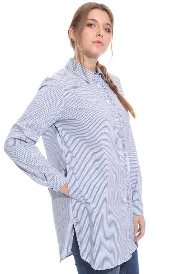Camicia con inserto ruches Fashion Market