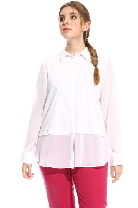 Camicia in cotone e gerogette Fashion Market