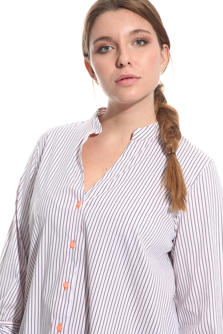 Camicia in tessuto stretch Fashion Market