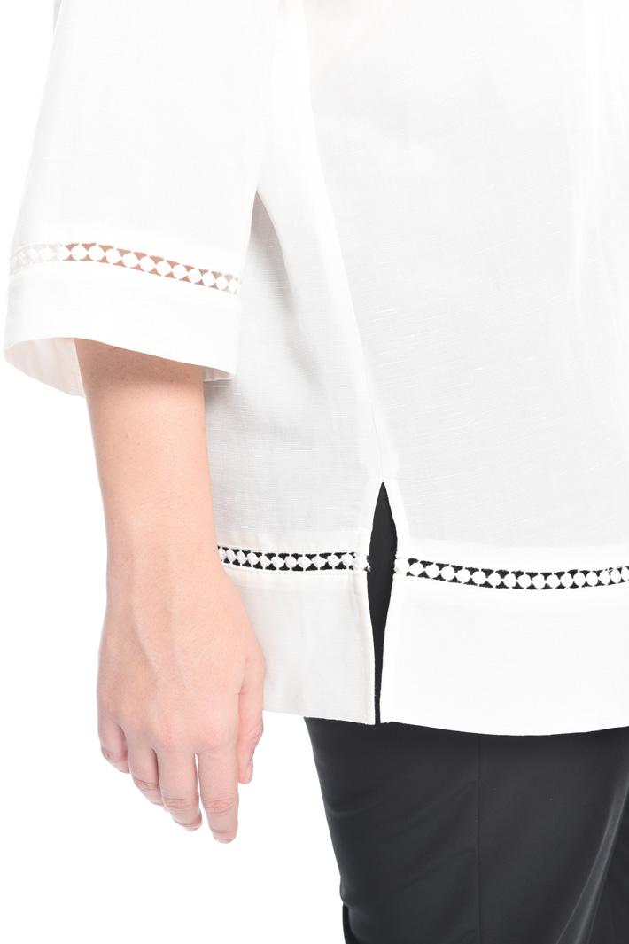 Camicia in tencel lino Fashion Market