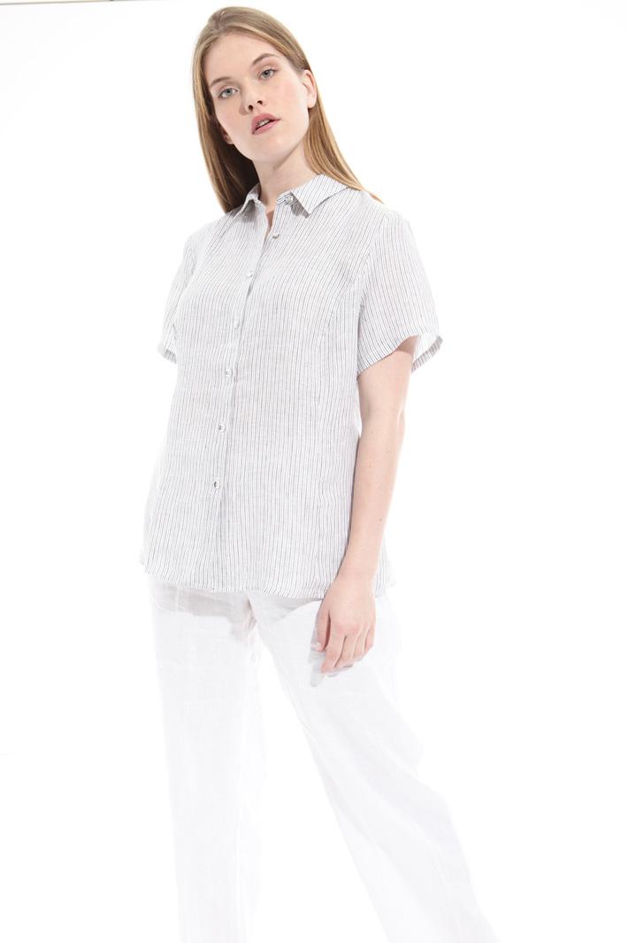 Camicia con maniche corte Fashion Market
