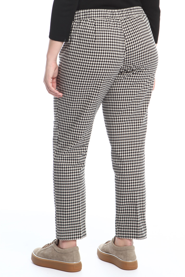 Pantaloni in raso di cotone Fashion Market