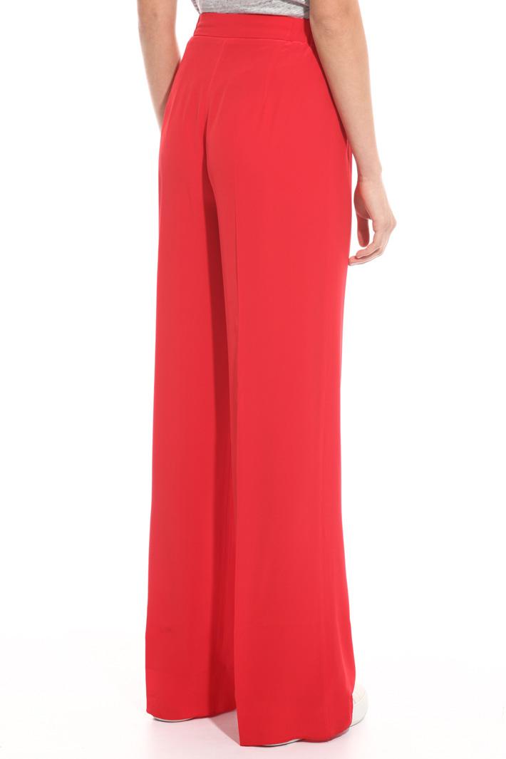 Pantalone fluido in pura seta Fashion Market