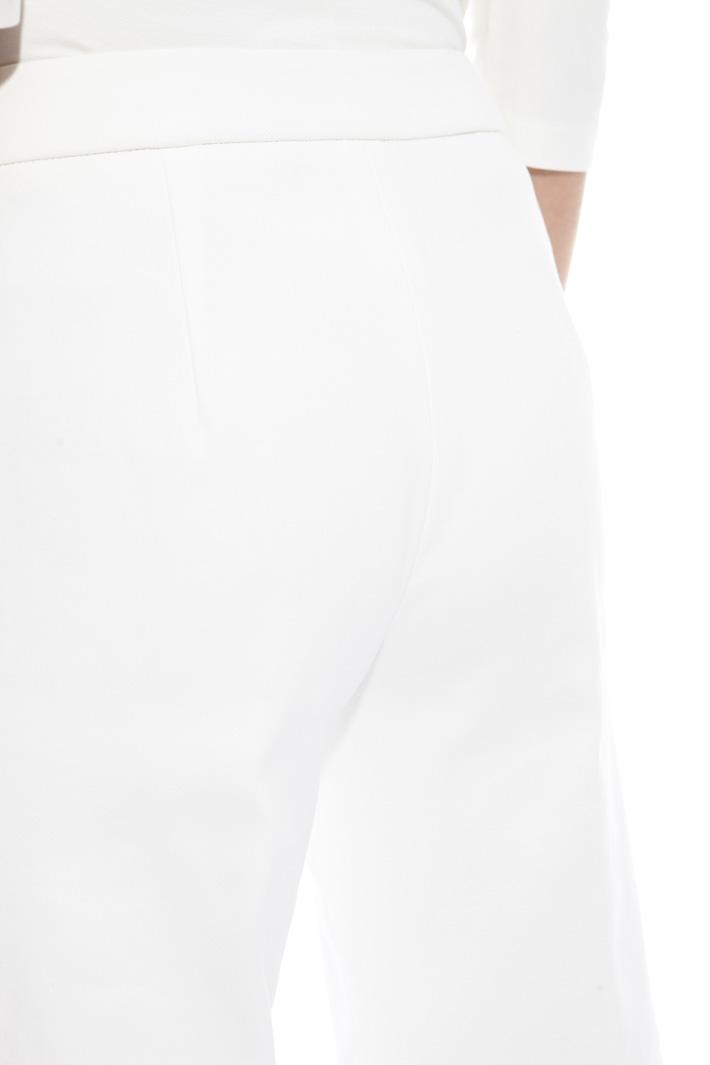 Pantalone palazzo in cotone Fashion Market