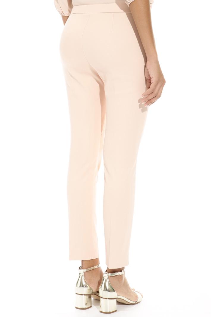 Pantalone aderente in faille Fashion Market