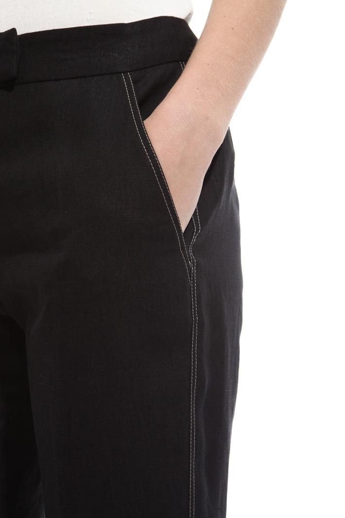 Pantalone cuciture contrasto Fashion Market