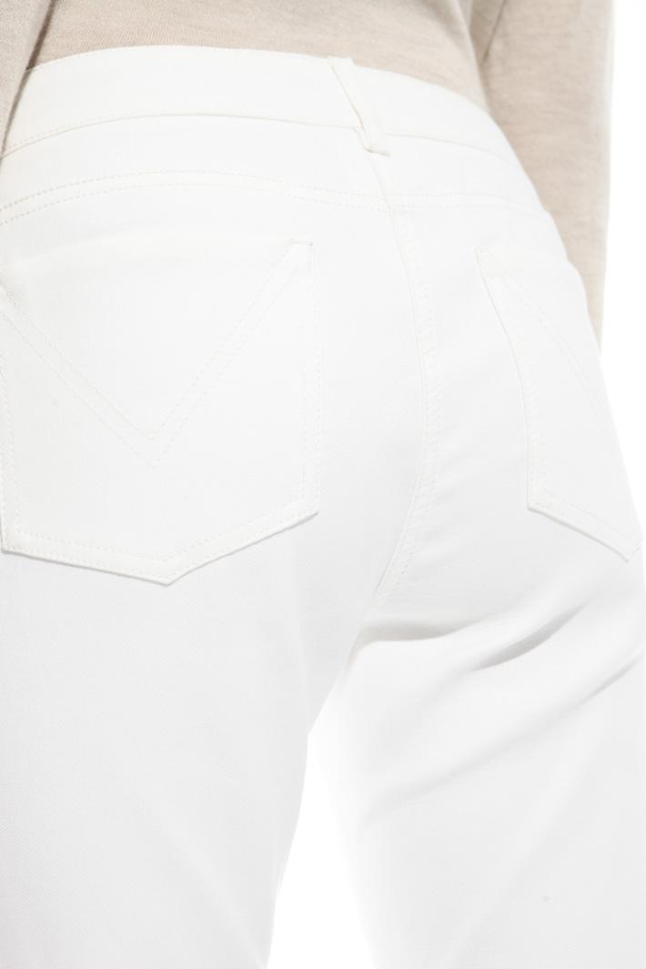 Pantalone in tessuto doppio Fashion Market