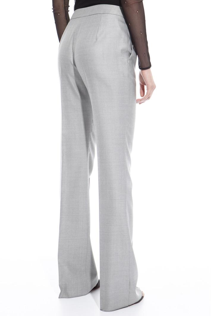 Pantalone in lana misto seta Fashion Market