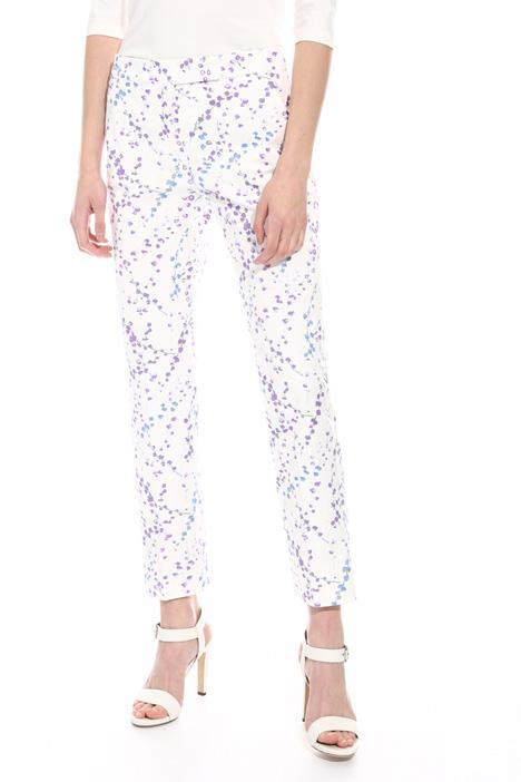 Pantalone stampato in cotone Fashion Market