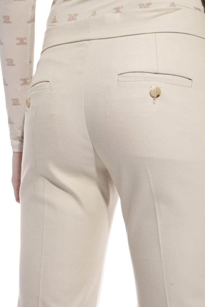 Pantalone con maxi risvolti Fashion Market