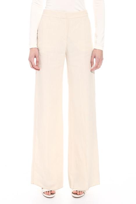 Pantalone palazzo in lino Fashion Market