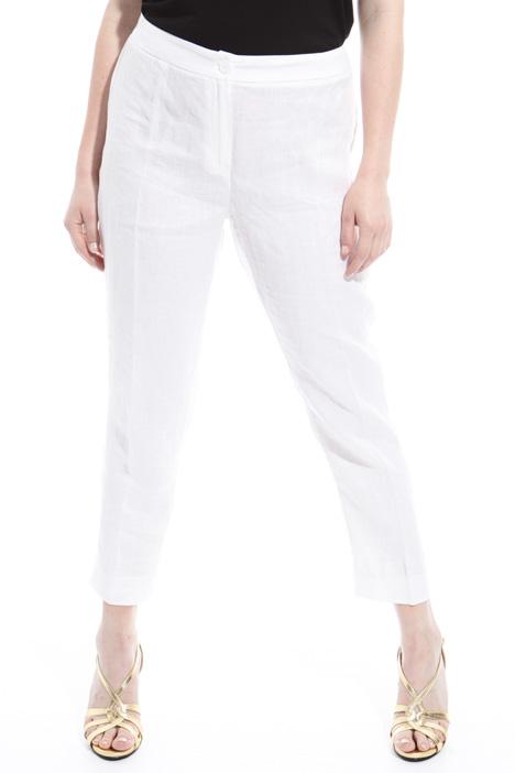 Pantaloni in puro lino Fashion Market