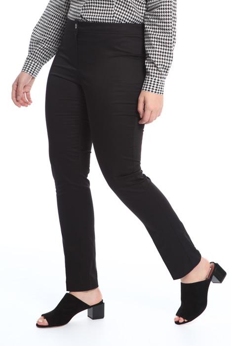 Pantaloni a sigaretta in raso Fashion Market