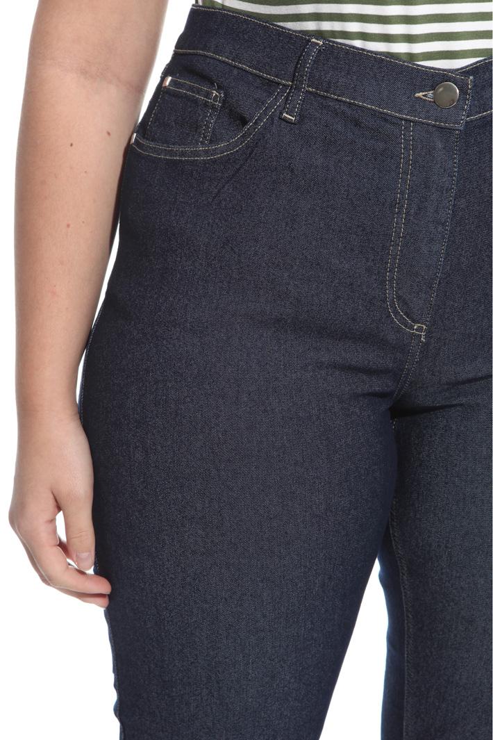 Pantalone in bull di cotone Fashion Market