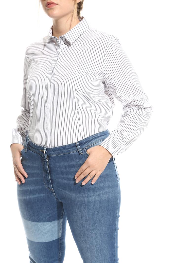 Jeans skinny in denim stretch Fashion Market