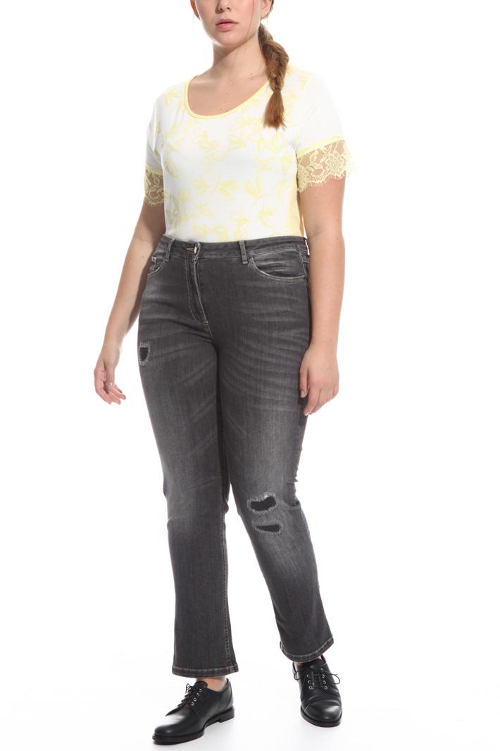 Jeans aderente in denim Fashion Market