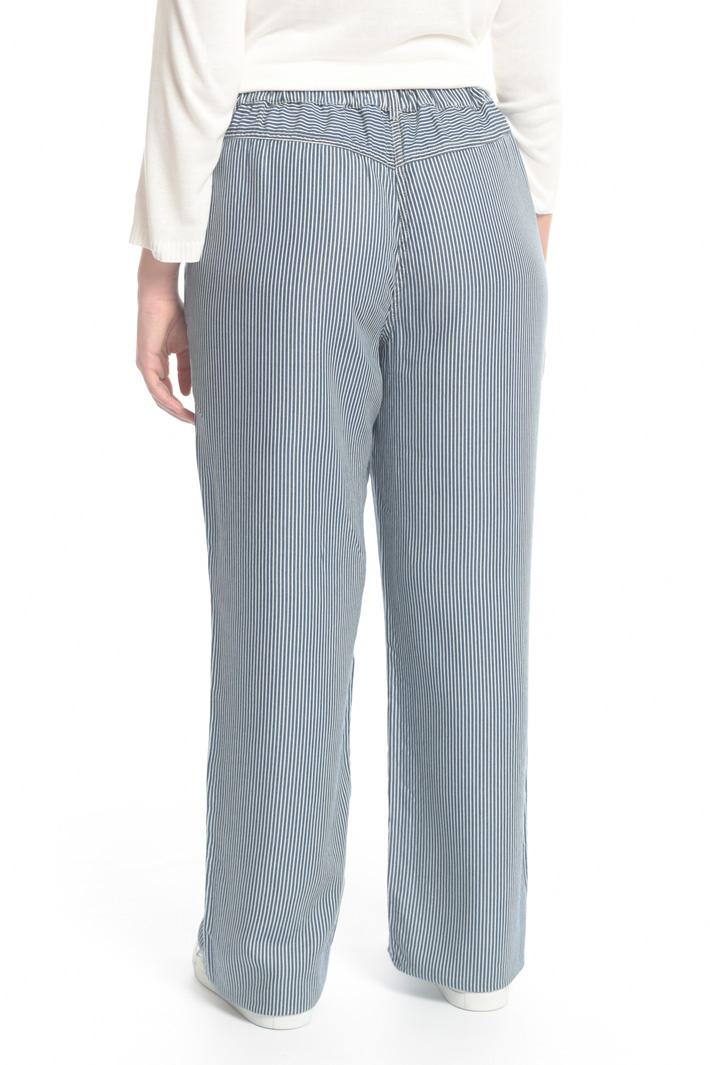 Pantalone in tencel denim Fashion Market