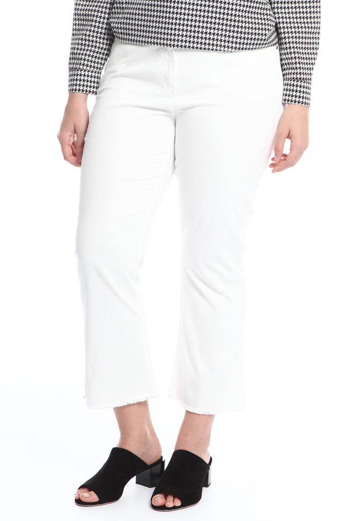 Jeans con orlo sfrangiato Fashion Market