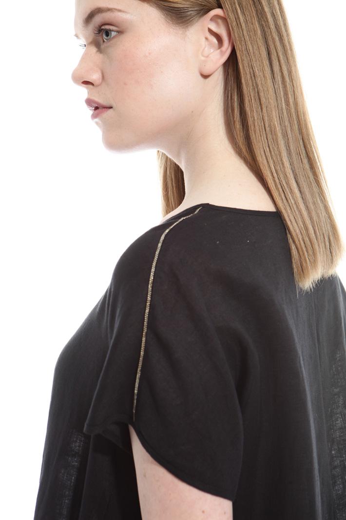 Top in lino leggero Fashion Market