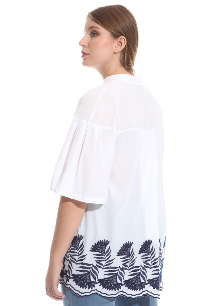 Casacca in cotone ricamato Fashion Market