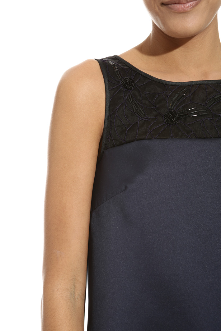 Mini abito in douchesse Fashion Market