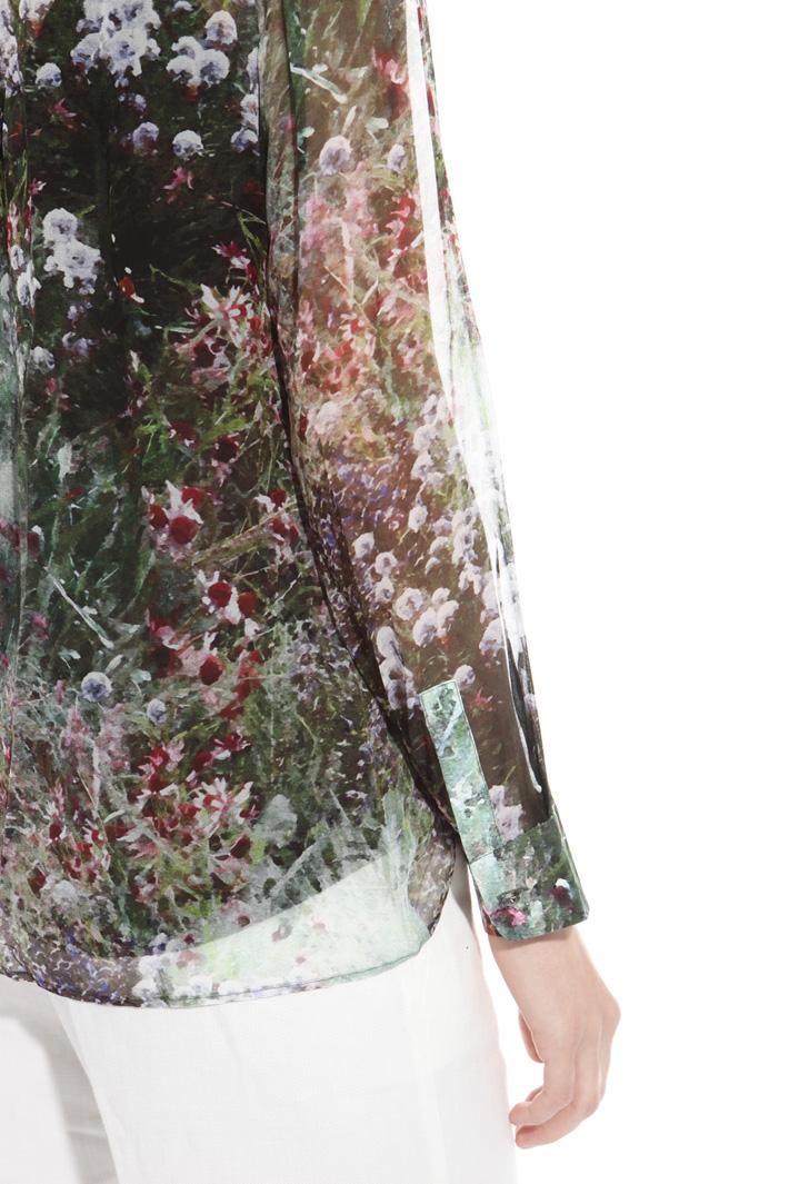 Camicia in georgette di seta Fashion Market