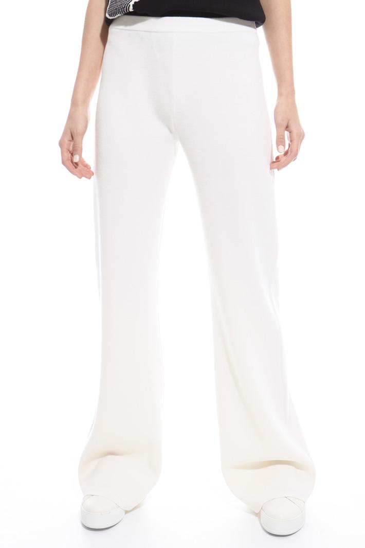 Pantalone in lana vergine Fashion Market
