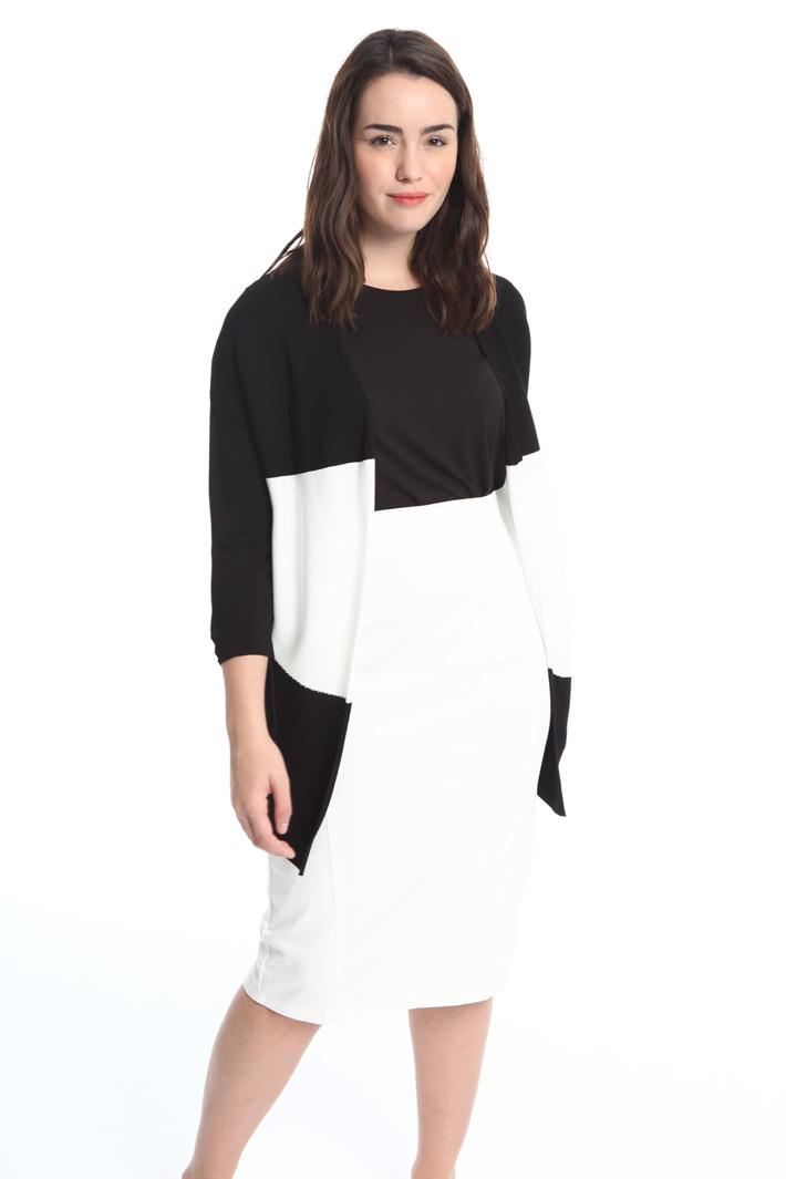 Cardigan in viscosa fluida Fashion Market