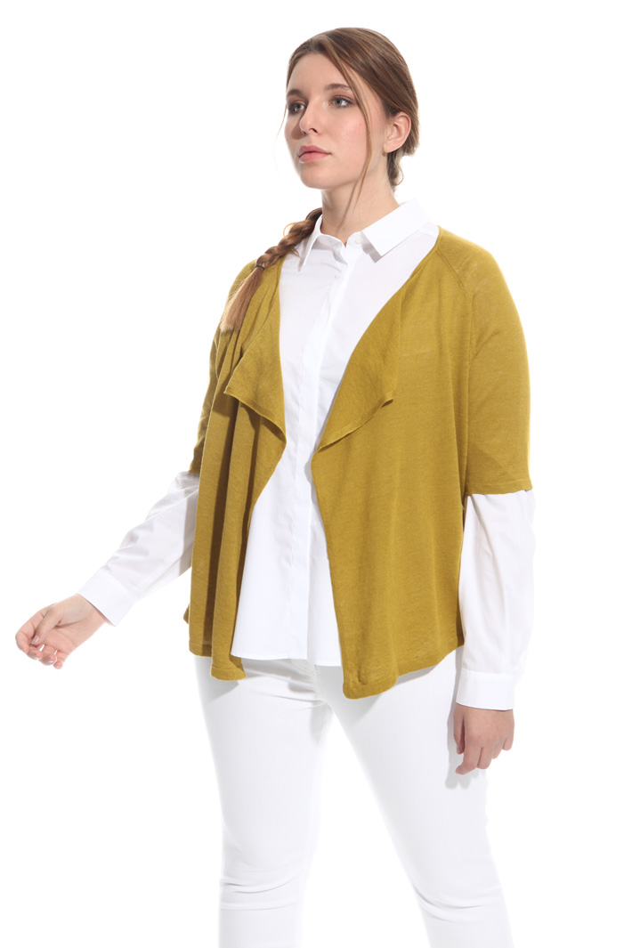 Cardigan in misto lino Fashion Market