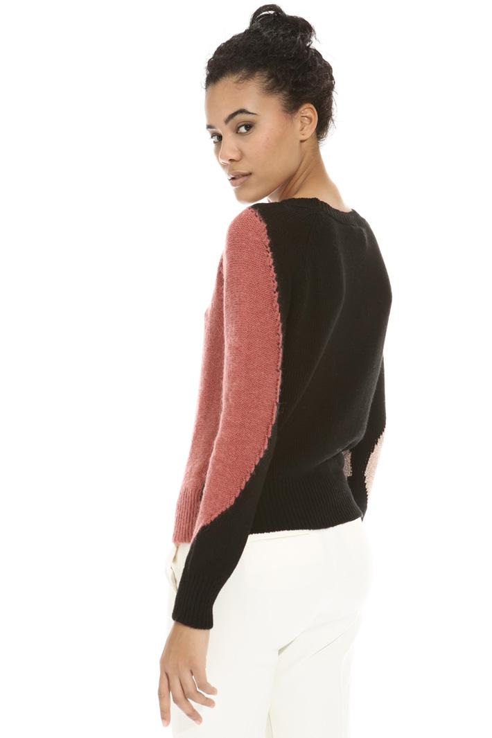 Maglia con intarsio lurex Fashion Market