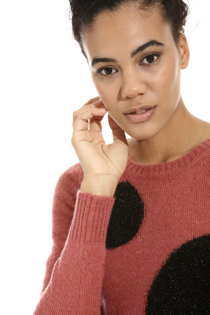 Maglia a motivi lurex Fashion Market