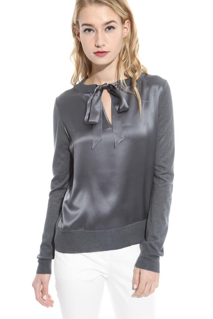 Maglia in seta e cashmere Fashion Market