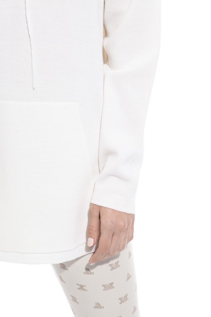 Maglia over con cappuccio Fashion Market