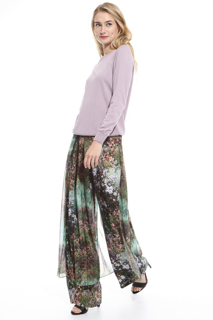 Maglia in cotone misto seta Fashion Market
