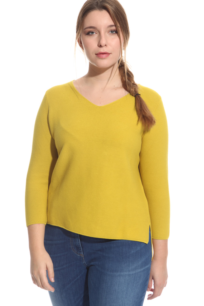 Maglia in cotone punto links Fashion Market