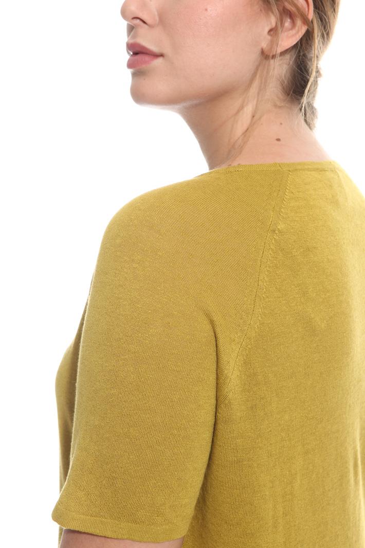 Maglia in lino e cotone Fashion Market