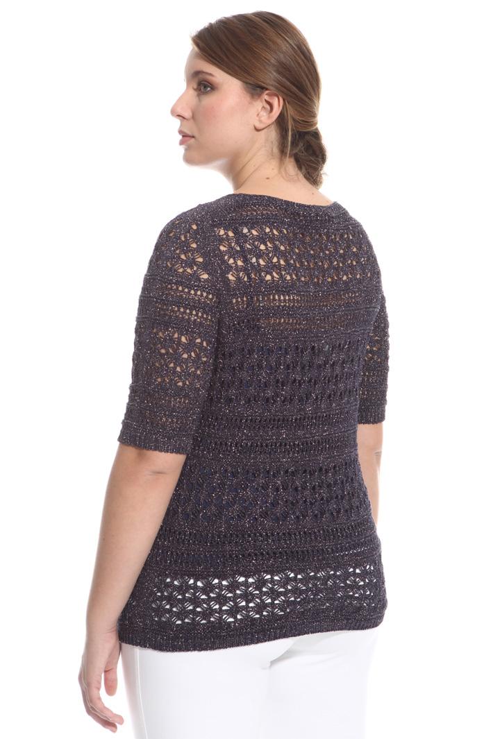 Maglia crochet lurex Fashion Market