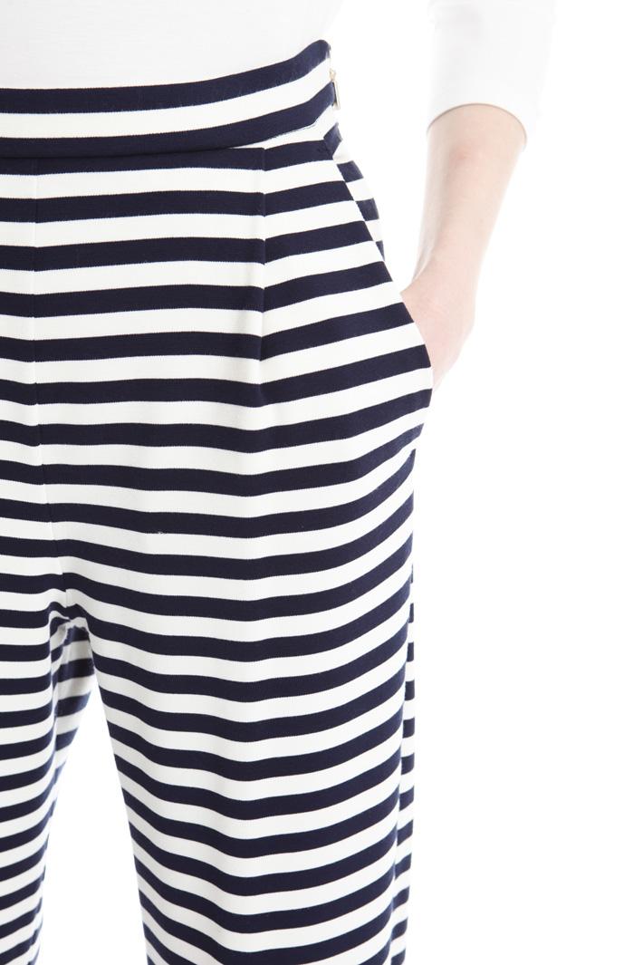 Pantalone in jersey rigato Fashion Market