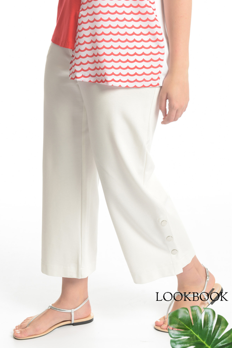Pantalone cropped in jersey Fashion Market