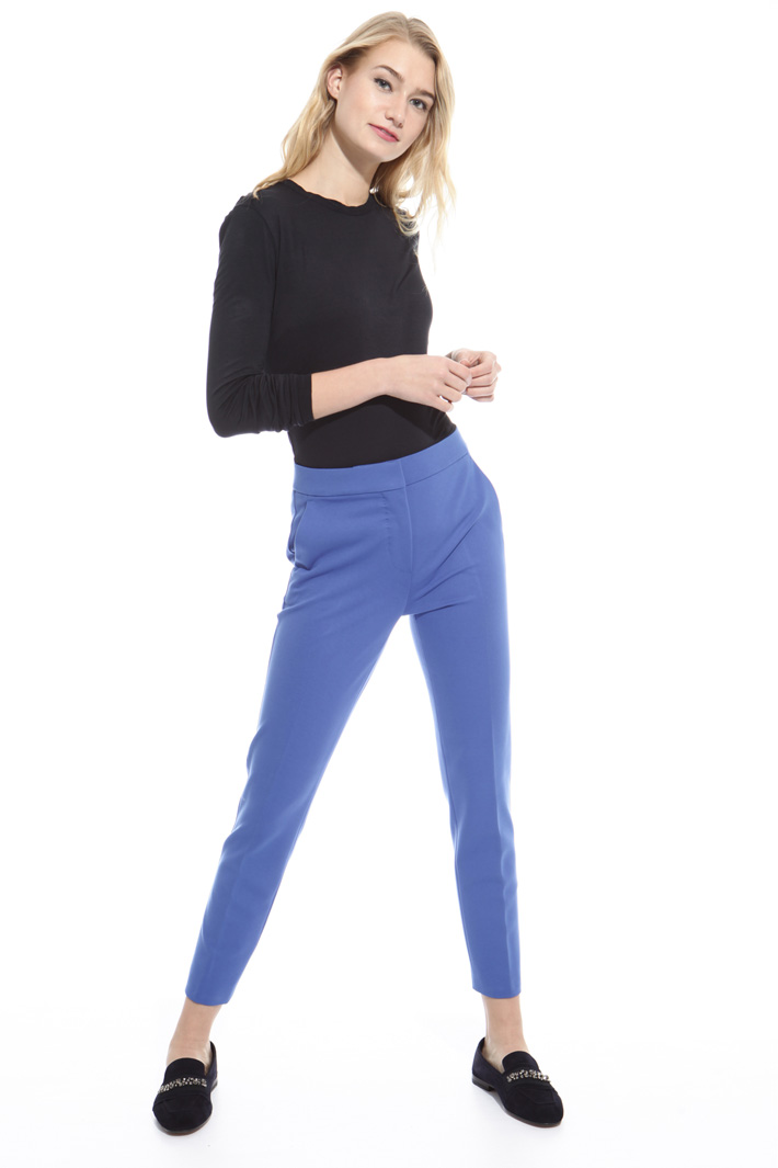 Pantalone in jersey doppio Fashion Market