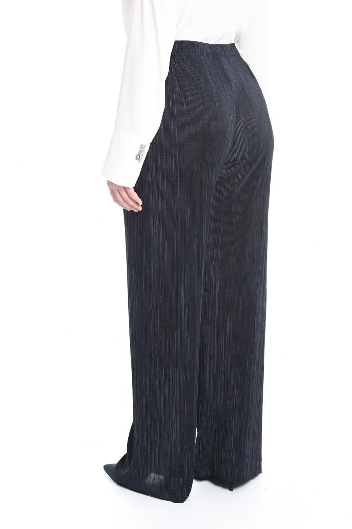 Pantalone palazzo plissé Fashion Market