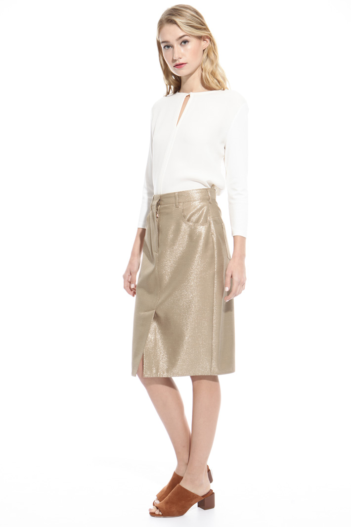 Blusa in jersey crepe Fashion Market
