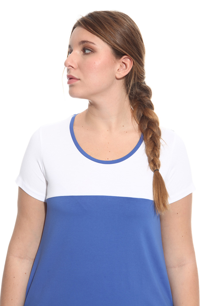 T-shirt in jersey bicolor Fashion Market