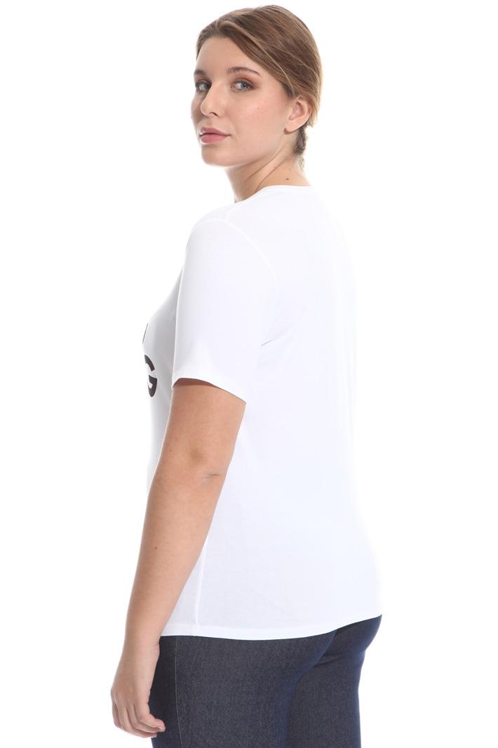T-shirt stampata in jersey Fashion Market