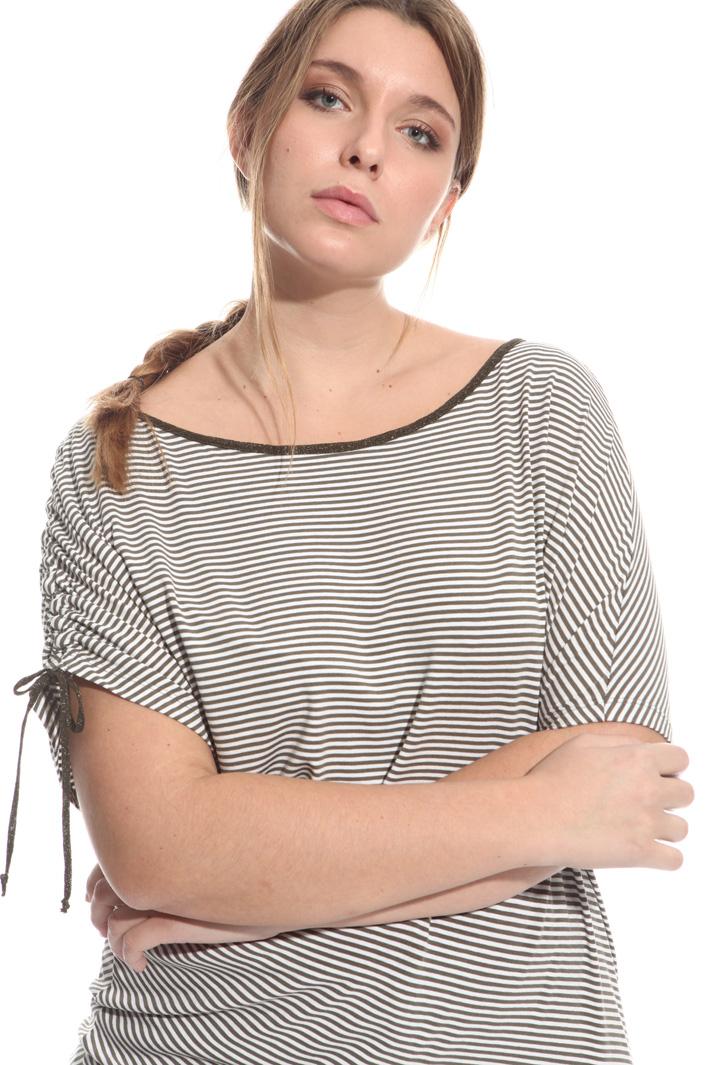 T-shirt con arricciatura Fashion Market