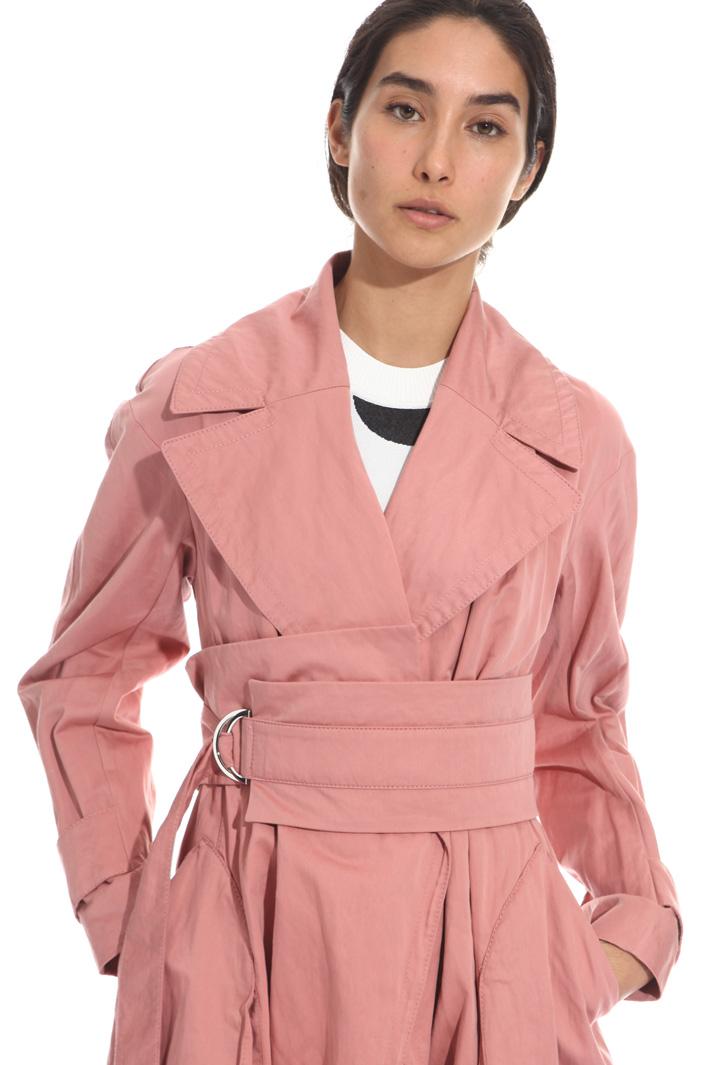 Trench con maxi cintura Fashion Market