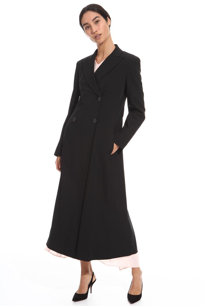 Soprabito in twill di lana Fashion Market